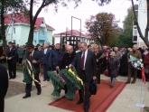 Открытие памятника жертвам Холокоста, Слуцк, Беларусь, 17 сентября 2007 г.