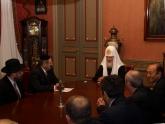 Встреча президента ЕАЕК с Патриархом Кириллом, Москва, декабрь 2009 г.