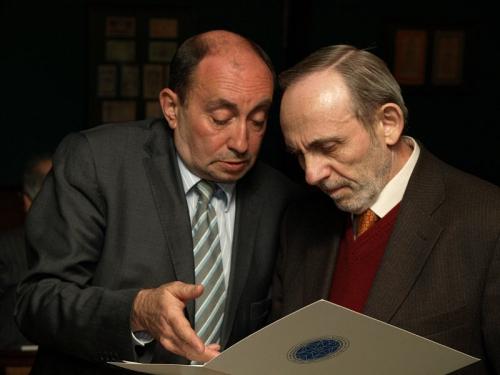 Исполнительный вице-президент ЕАЕК Юрий Раскин и министр экономики России в 1997-98 гг. Яков Уринсон