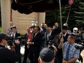 Внесение свитка Торы в Синагогу на Поклонной горе, Москва, 10 мая 2010