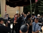 Introduction of the Torah Scroll to the Poklonnaya Gora Synagogue. Moscow, May 10, 2010.